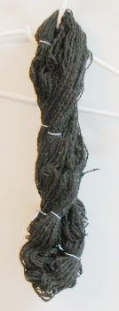 Plyed skein before washing.