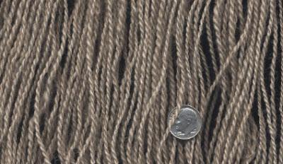 My Fawn Shetland handspun yarn.