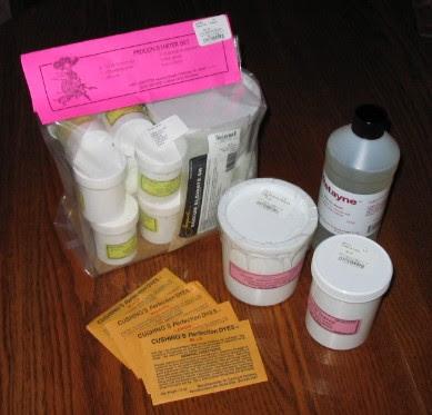Dye supplies