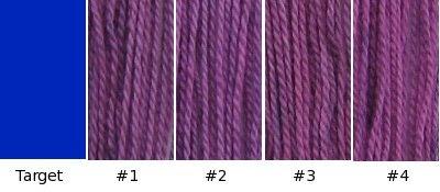 My not-blue purples.