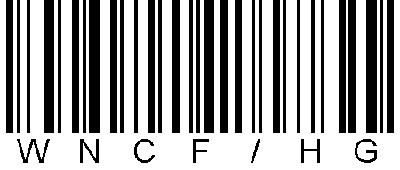 Barcode for the Western NC Fibers/Handweavers Guild