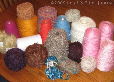 Sadly, these are all synthetic yarns.