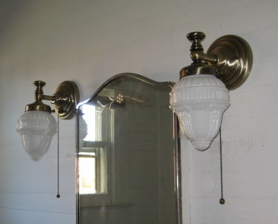 New over sink bathroom lights