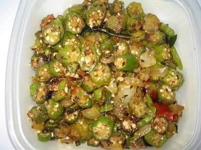Bhindi Masala Hebbar S Kitchen