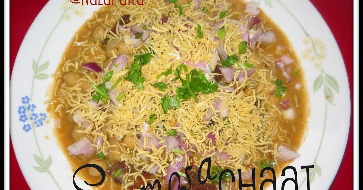 Samosa Chaat Recipe Rak S Kitchen