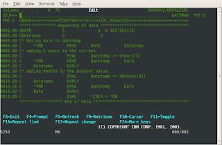My Tech Mind: Convert date format RPGLE