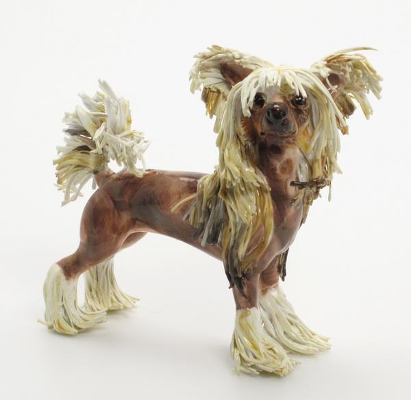 Madamepommcustomorder Chinese Crested Dog Ursula