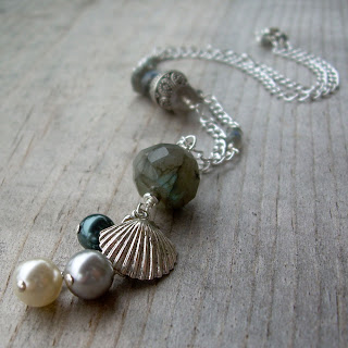 labradorite ocean necklace