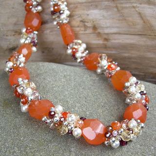 citrus sorbet necklace
