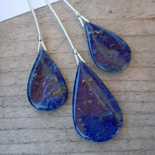 lapis lazuli briolettes