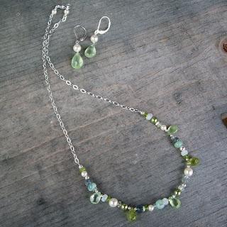 vegan bridesmaid necklace