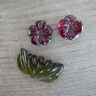 pink green tourmaline