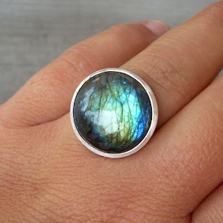 big labradorite ring