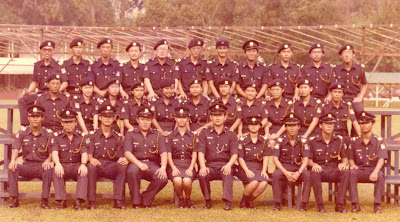 29 May 1982 Cadet Inspectors Training Course Group 2
