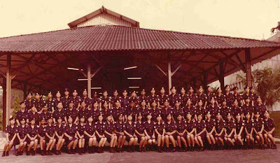 29 May 1982 Cadet Inspectors Training Course