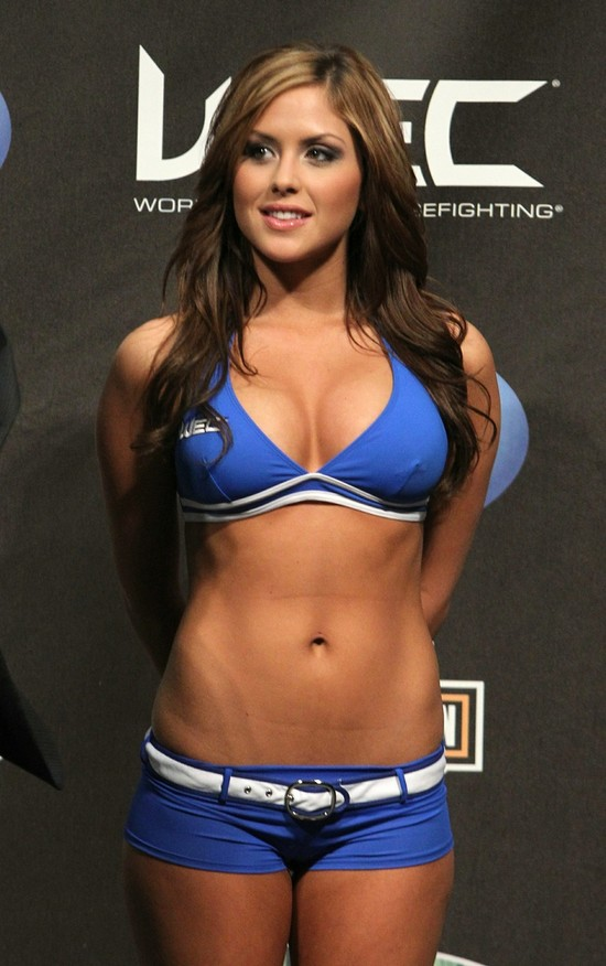 Right! Nude mma ring girls that