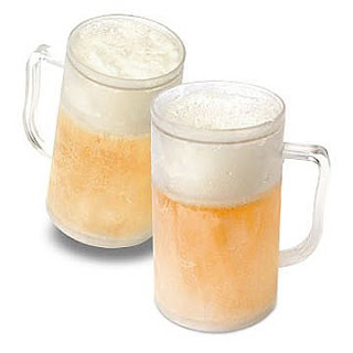 cold frosted beer