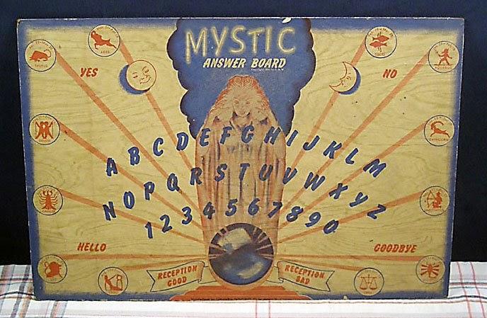 Vintage Ouija Boards 54