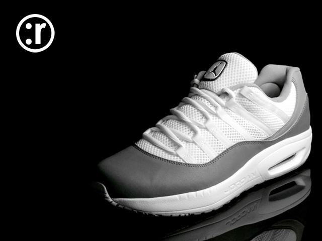 e1b41b5f08ad95 rmkstore  Nike Air Jordan CMFT 11 Viz Air Cool Grey 444905-101