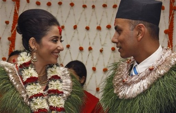 What prompted Manisha Koirala to marry Samrat Dahal only to get a divorce two years later?