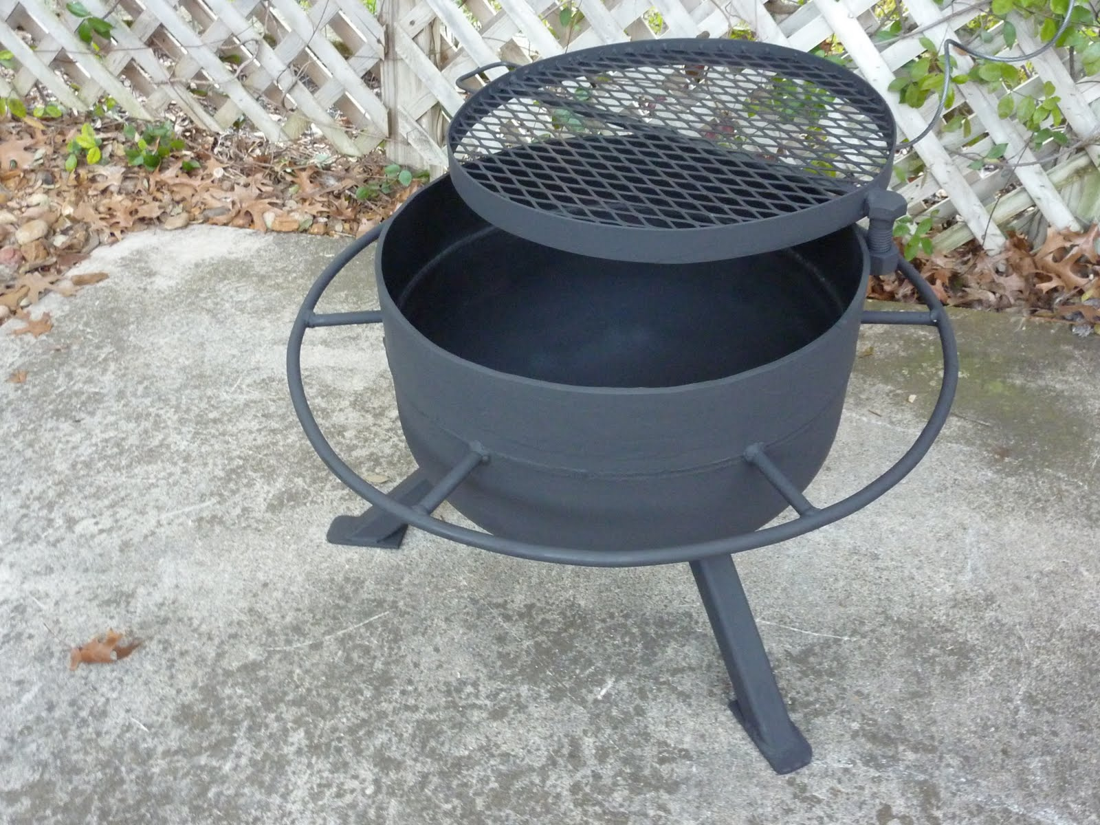 Jim Aderhold's Welding and Metalworking Hobby: Fire Pit ...