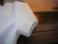 Finished sewn sleeve