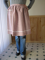 1950's apron without the bib