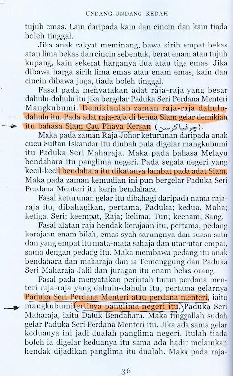Undang Undang Kedah,ms 36