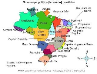 Geoblogueiro Mapa do Poltico brasileiro