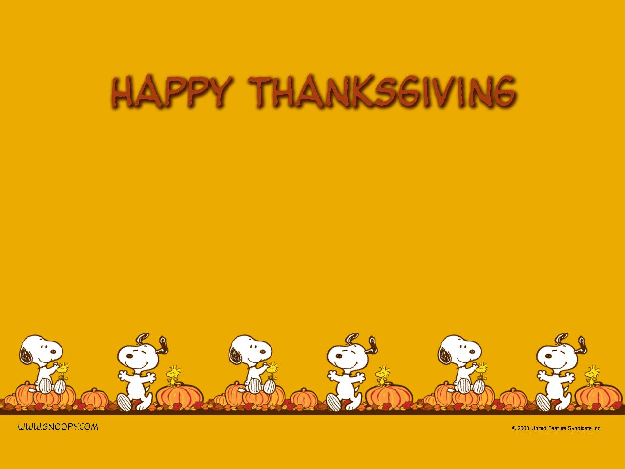 Carren jao notes - Snoopy thanksgiving wallpaper ...