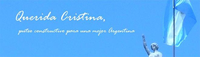 Querida Cristina,