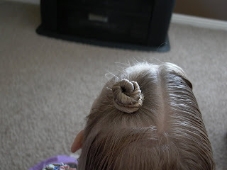 Little Girl S Hairstyles Twist Buns Or Alien Buns