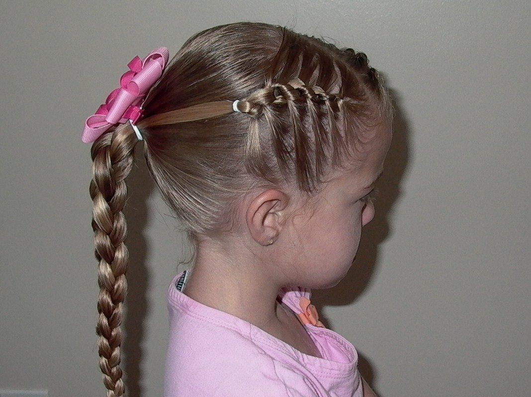 Cute Ponytail Hairstyles For Little Black Girl