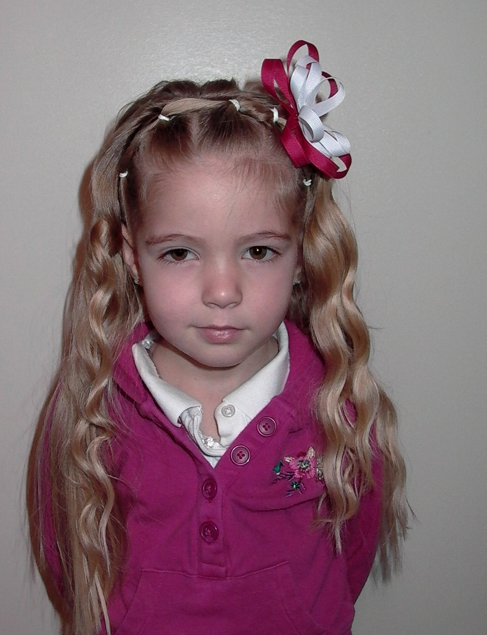 Little Girl's Hairstyles – How to do hair for School Pics