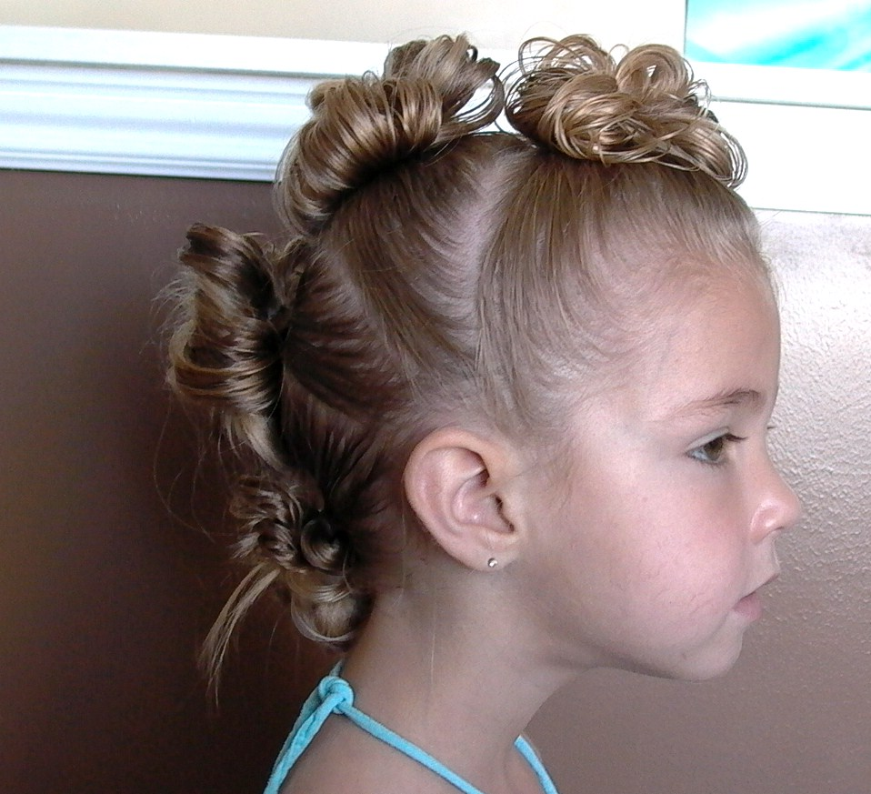 Awesome Pretty Hair Is Fun Girls Hairstyle Tutorials Little Girl39S Hairstyles For Men Maxibearus