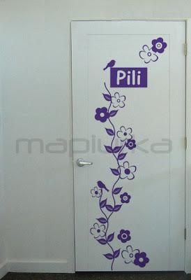 Mapiurka adhesivos decorativos ba febrero 2010 - Puertas decoradas con vinilo ...