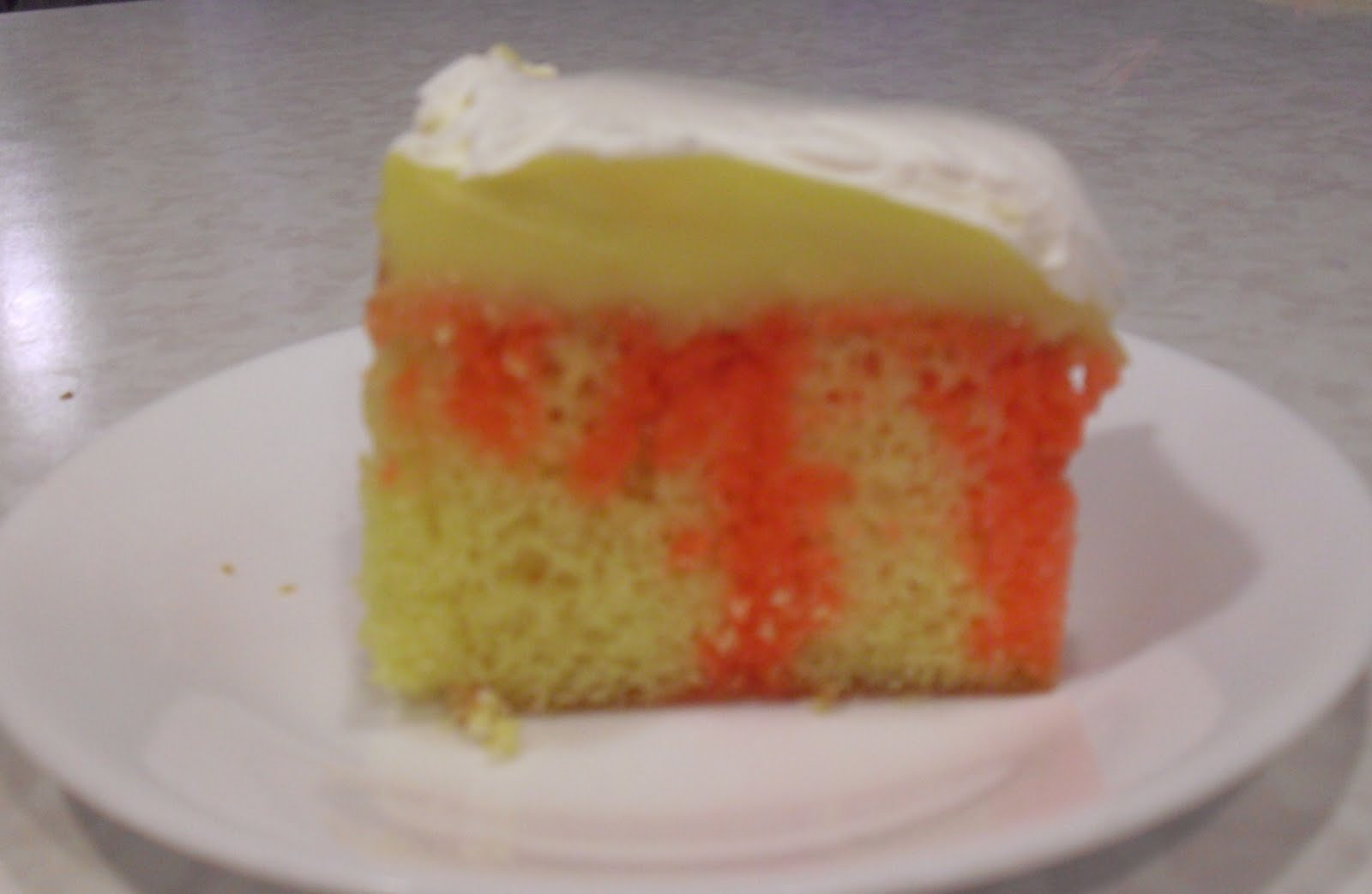 Lemon Jello Cake Recipe Poke: Nine For Dinner: Easy Jello Pudding Cake