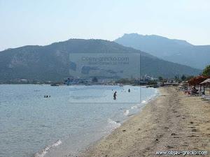 Pláž v Skala Prinos