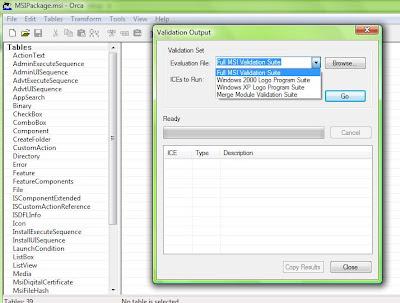 Windows Installer Blog: Automated Install Testing - MSI Validation