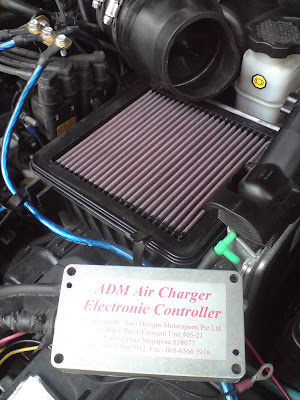 Port, Starboard, Forward and Aft: ADM Air Charger