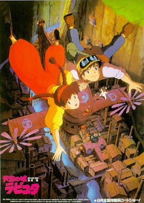 Poster - Laputa: Castle in the Sky