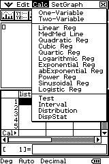 Education WA: Classpad 330 and Normal Distribution