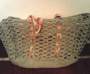 Quahog Beach Bag from www.Crochetkitten.com