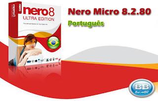 nero8 micro baixebr Nero Micro 8: Português