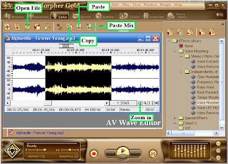 free tutorials project15 baixebr AV Music Morpher Gold