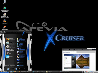 Apevia x Cruiser Tema para Windows XP