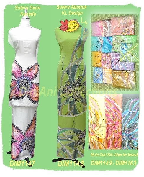 Batik Lukis Kelantan: Batik Sutera