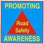 poster promoting road safety awareness