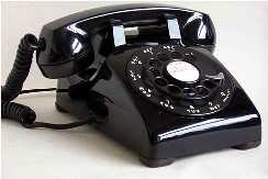 Oh! the nostlagia of a telephone with a dial and loop-disconnect pulsing