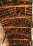 an oak beam roof